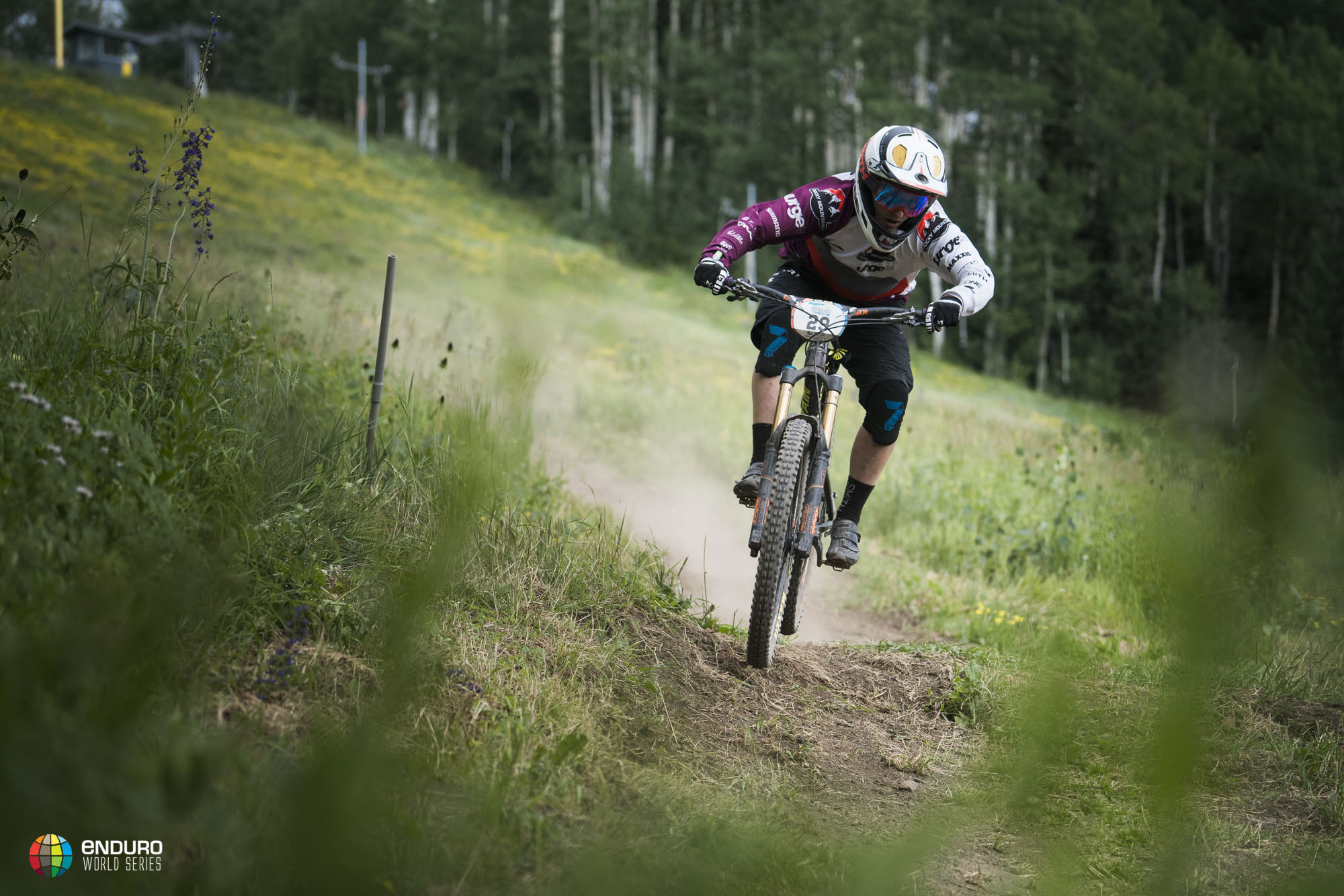Jesse Melamed finishes in his career best 8th place, providing some good momentum for his own home round in Whistler