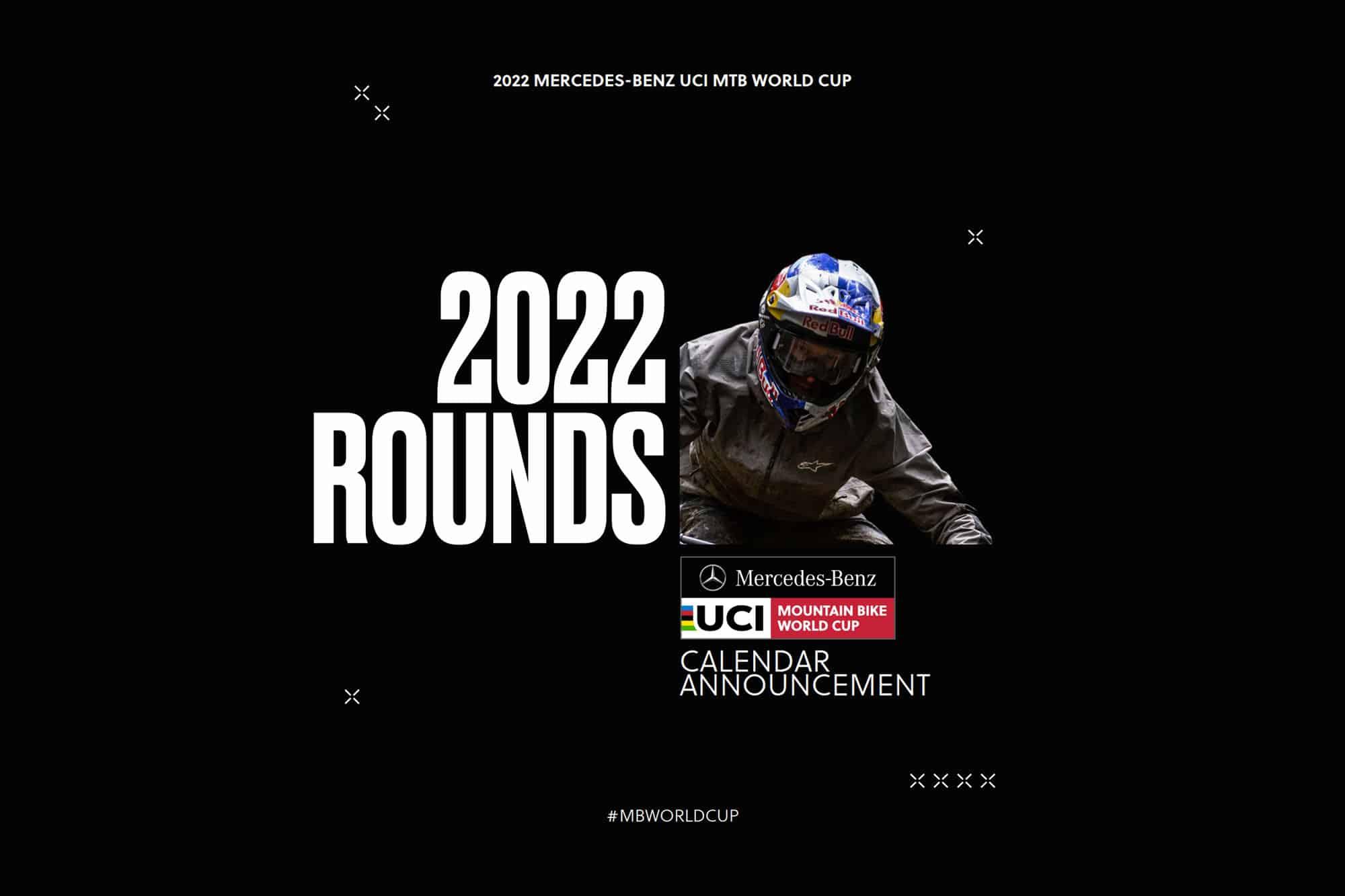 Calendrier Vtt 2022 Scène internationale   Le calendrier de la Coupe du Monde DH 2022
