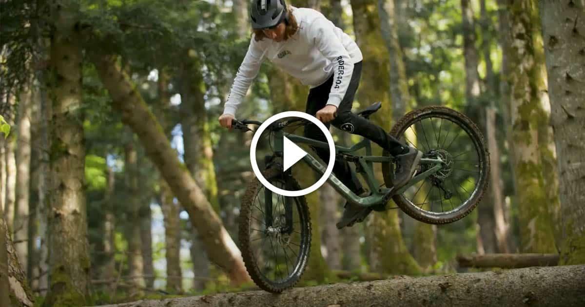 Vidéo - Lucas Bruder - Enduro & Trial au guidon du Focus Thron